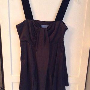 Black Simply Vera Silk w/Velvet straps